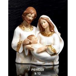 Nativita mezzo busto cm 12 in porcellana