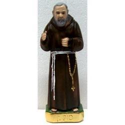 Padre Pio da Pietralcina cm 23 in gesso