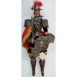 Paladino Acolaccio in ottone cm 30