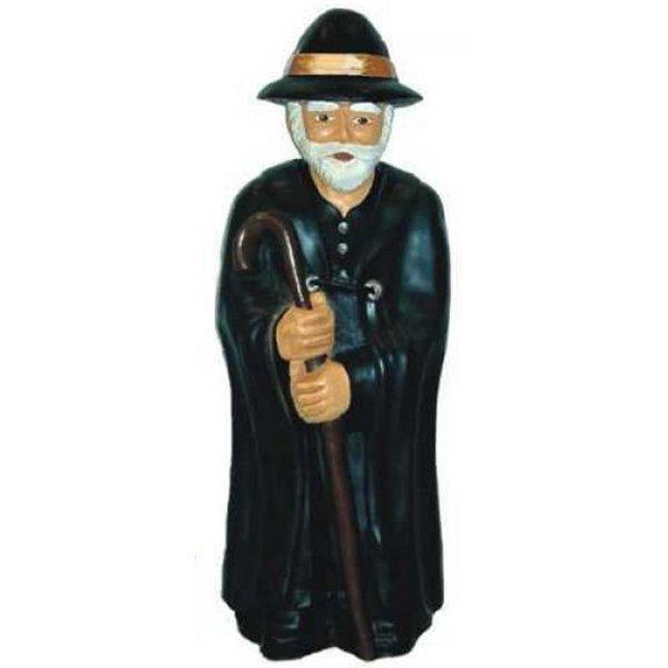 Statua Pastore della fattoria cm 95 in vetroresina