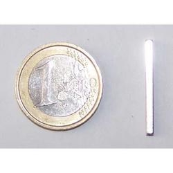 Magnete Piastra in neodimio mm 25x2x2