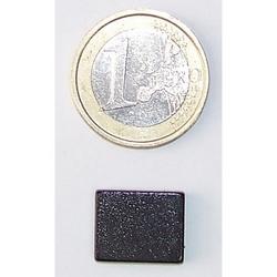Magnete Piastra in neodimio nero mm 15x12x3