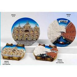 Piatto Basilica San Marco cm 10 in resina