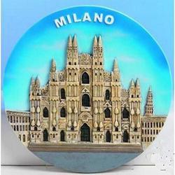 Piatto Duomo di Milano cm 19 in resina