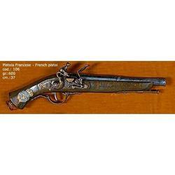 Riproduzione antico modello di pistola francese cm 37 art. 106
