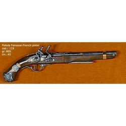 Riproduzione antico modello di pistola francese cm 45 art. 119