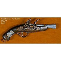 Riproduzione antico modello di pistola francese cm 27 art. 123