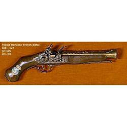 Riproduzione antico modello di pistola francese cm 37 art. 127