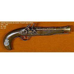 Riproduzione antico modello di pistola francese cm 37 art. 130