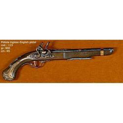 Riproduzione antico modello di pistola inglese cm 45 art. 115
