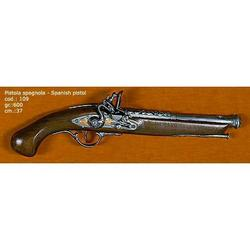 Riproduzione antico modello di pistola spagnola cm 37 art. 109