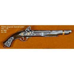 Riproduzione antico modello di pistola spagnola cm 45 art. 116