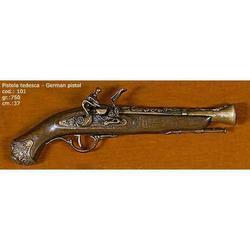 Riproduzione antico modello di pistola tedesca cm 37 art. 101