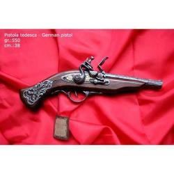 Riproduzione antico modello di pistola tedesca cm 25.5 art. 165