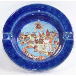 Posacenere Sicilia in ceramica cm 10x10