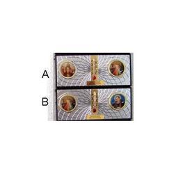 Quadretto doppia foto e calamite cm 8.5x4