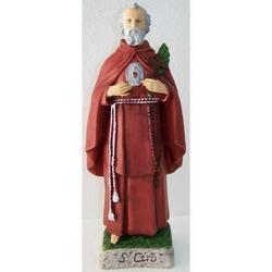 Statua San Ciro in resina da cm 40