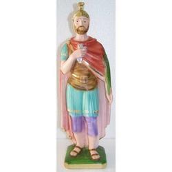 Statua San Donato gesso cm 32