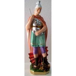 Statua San Giorgio in gesso cm 32