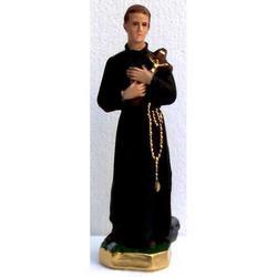 Statua San Gerardo da cm 21 in gesso