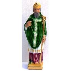 San Patrizio o San Biagio in gesso da cm 22