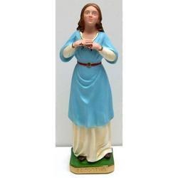 Statua Sant Agata in gesso cm 31