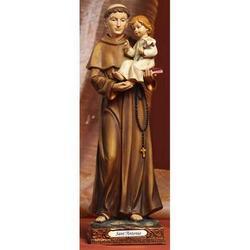 Statua Sant Antonio di Padova cm 32 in resina