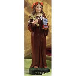 Statua Santa Rosalia cm 21 in resina