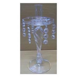 Candeliere in vetro cm 24