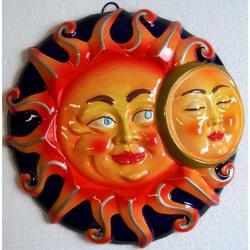 Souvenir Sole Luna in ceramica cm 23x23