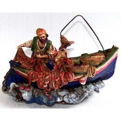 Souvenir Barca in resina cm 20x13