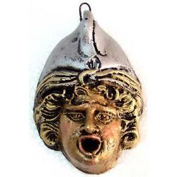 Maschera Greca in Lava cm 8.5x6 modello BA003