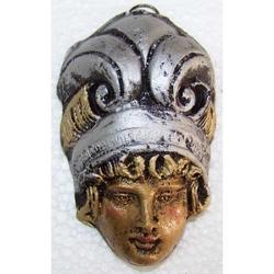 Maschera Greca in Lava cm 7.5x5 modello BA016