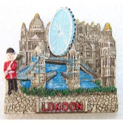 Souvenir Londra in resina cm 5.5x5 con magnete