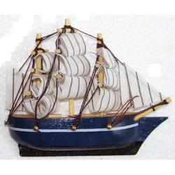 Magnete Barca in legno cm 9x8