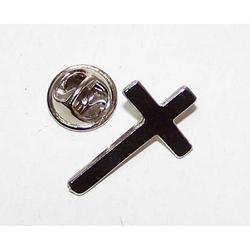 Spilla Croce in nikel cm 2.5x1.5