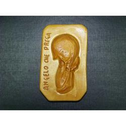 Stampo per Angelo che prega di marzapane