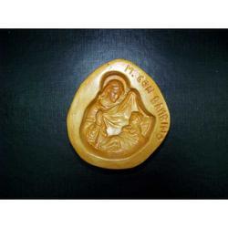 Stampo per Maria con Bambino di marzapane