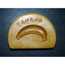Stampo per banana mini di marzapane