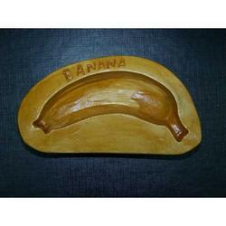 Stampo per banana di marzapane