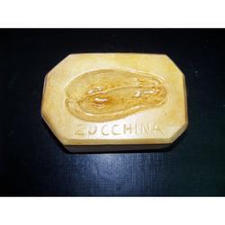 Stampo per zucchina di pasta reale