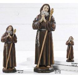 Statua San Francesco di Paola in resina cm 31