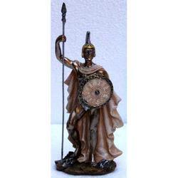 Statua di Achille in resina cm 15