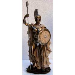 Statua di Achille in resina cm 26