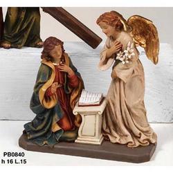 Statua Annunciazione cm 16 in resina