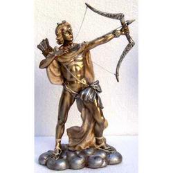 Statua di Apollo in resina cm 23