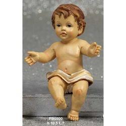 Statua Bambinello cm 10.5 in resina