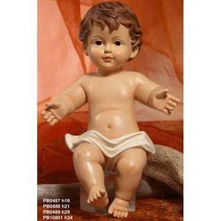 Statua Bambinello in resina cm 16