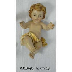 Statua Bambinello cm 13 in resina