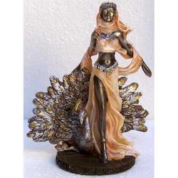 Statua della dea Hera in resina cm 12